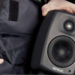 Genelec 8010 bag with speaker