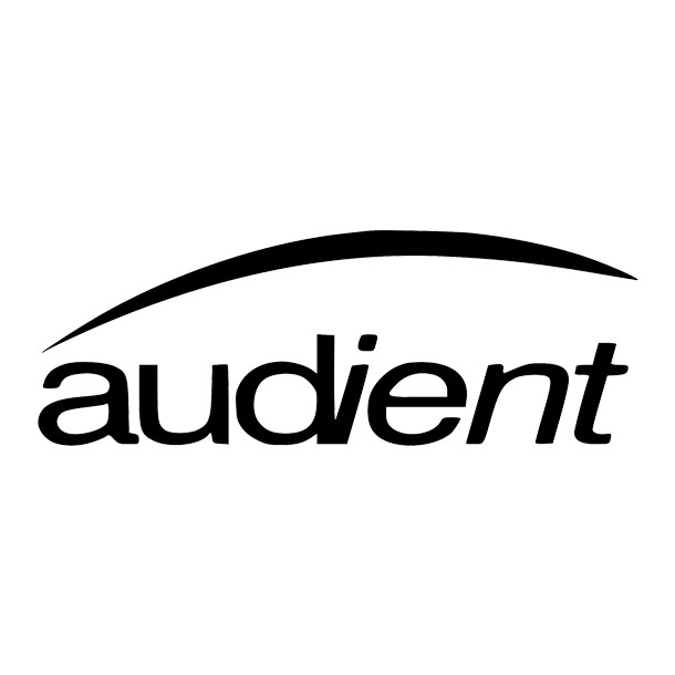 Audient Logo White Square