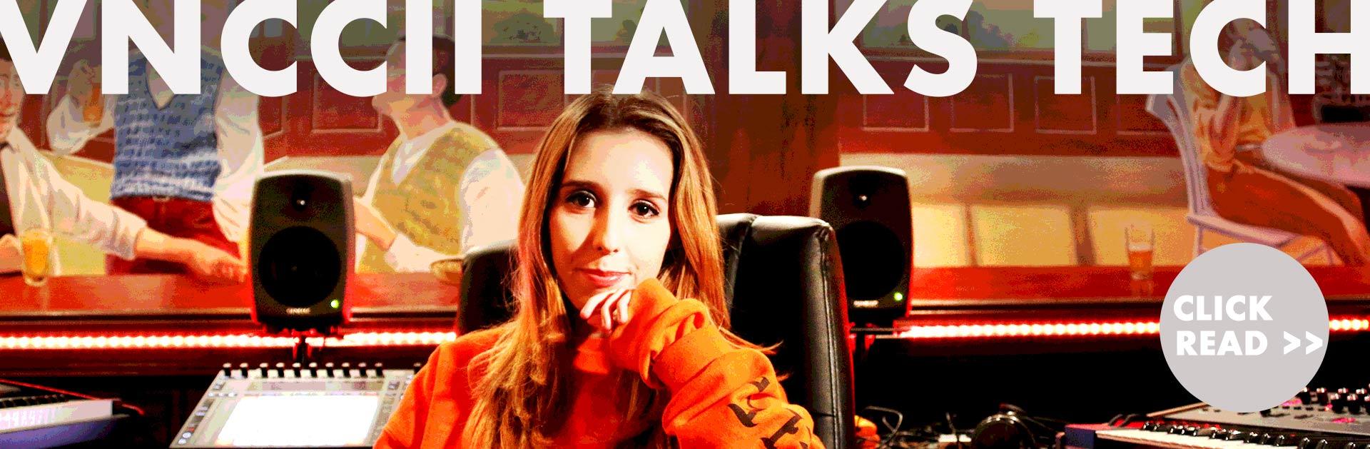 Vnccii Talks about her Genelec SAM Speakers