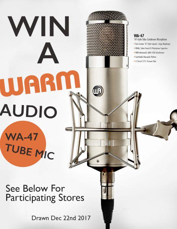 Warm Audio WA 47 Free Giveaway
