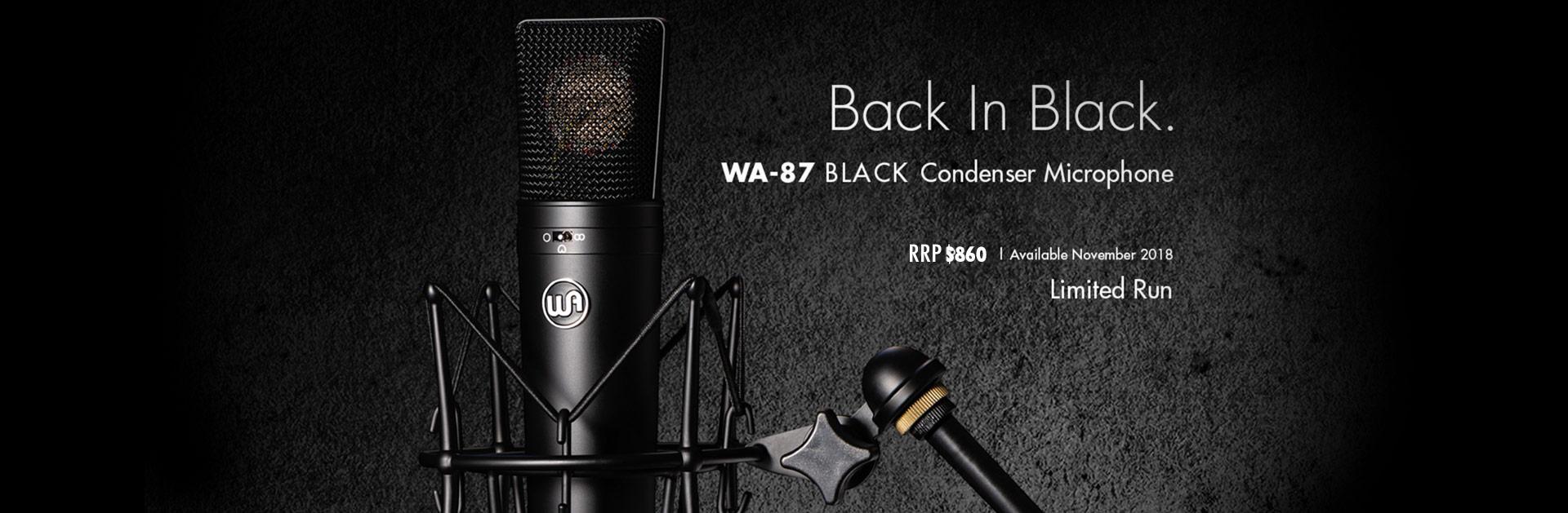 Warm Audio WA87 Black