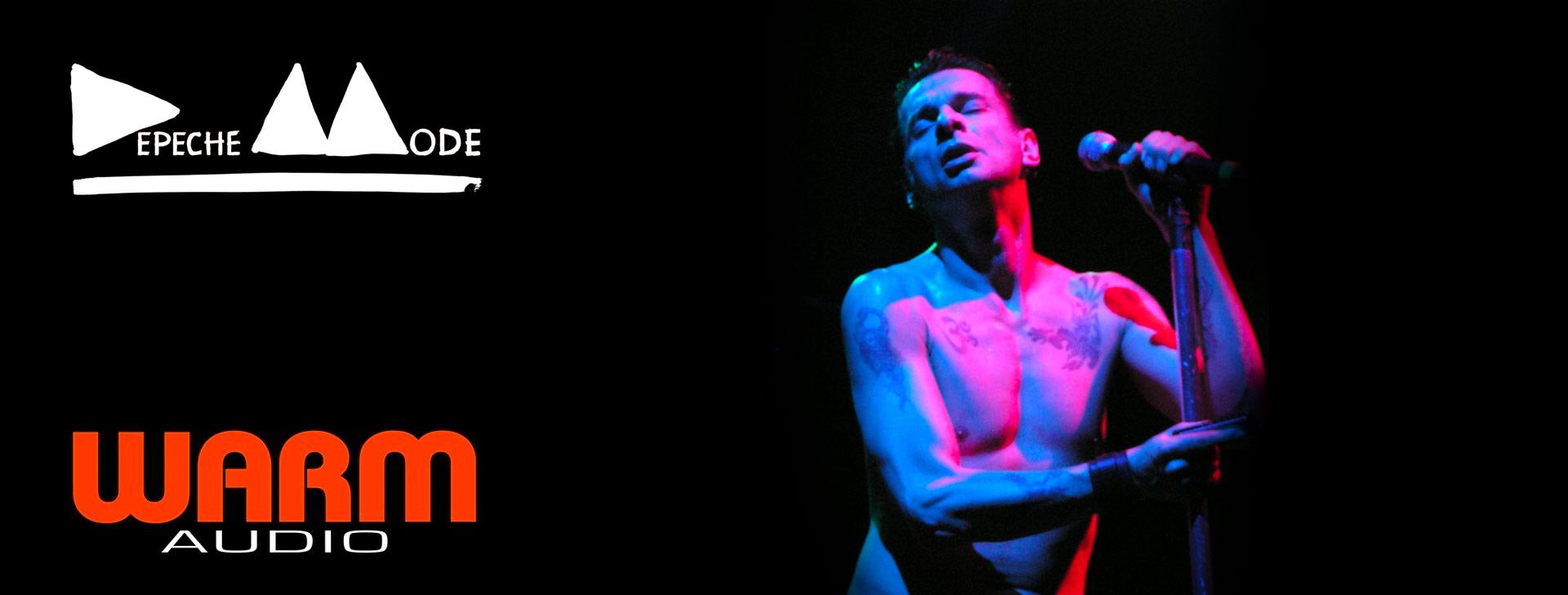 depeche mode live warm audio