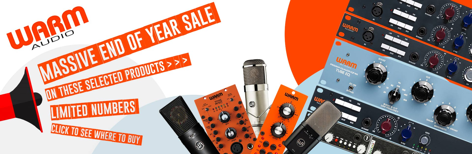 Warm Audio End of year Sale