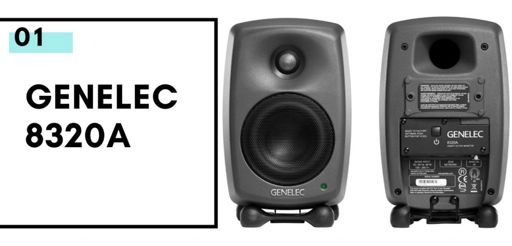 Genelec 8320 monitors
