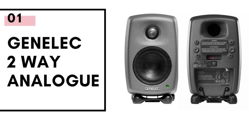 Genelec 2 WAY ANALOG