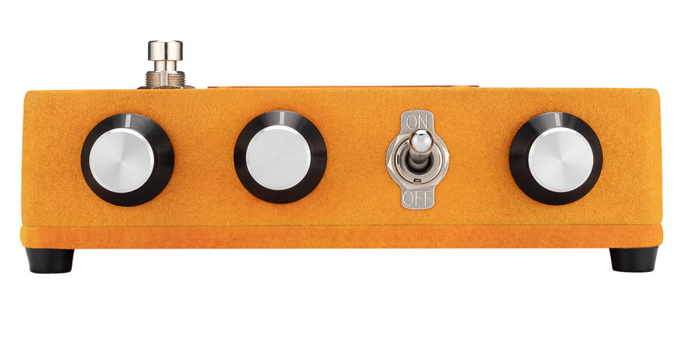 warm audio foxy pedal side